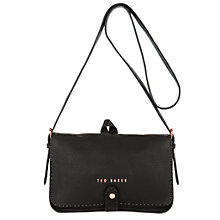 Buy Ted Baker Bar Cross Body Bag, Black Online at johnlewis.com