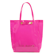 Buy Ted Baker Emacon Bow Shopper Bag Online at johnlewis.com