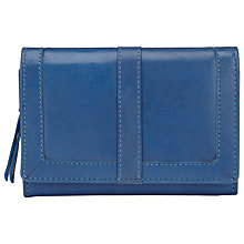Buy John Lewis Medium Leather Flapover Purse Online at johnlewis.com