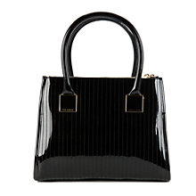 Buy Ted Baker Sophia Quilted Tote Bag, Black Online at johnlewis.com
