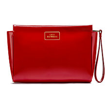 Buy Lulu Guinness Medium Patent Leather Katie Clutch Bag Online at johnlewis.com