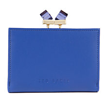 Buy Ted Baker Elly Small Square Crystal Matinee Leather Purse Online at johnlewis.com