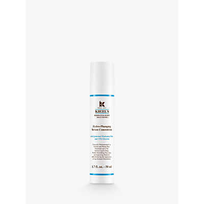 shop for Kiehl's Hydro Plumping Re-Texturising Serum Concentrate, 50ml at Shopo