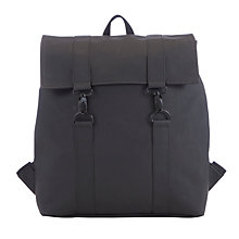 Buy Rains MSN Messenger Bag, Black Online at johnlewis.com