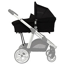 Buy iCandy Apple 2 Carrycot, Black Online at johnlewis.com