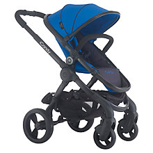 Buy iCandy Peach 3 Pushchair with Black Chassis & Cobalt Hood Online at johnlewis.com