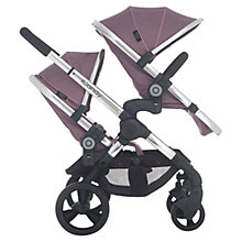 Buy iCandy Peach Blossom 3 Pushchair with Chrome Chassis & Marshmallow Hood Online at johnlewis.com