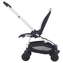 Buy iCandy Raspberry Pushchair with Chrome Chassis & Black Seat Online at johnlewis.com