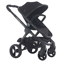 Buy iCandy Peach 3 Pushchair with Black Chassis & Jet Black Hood Online at johnlewis.com