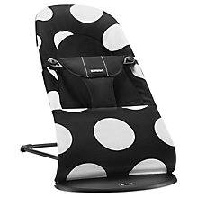 Buy BabyBjörn Soft Bouncer, White/Black Online at johnlewis.com