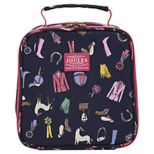Buy Little Joule Horse Print Lunch Bag, Navy Online at johnlewis.com