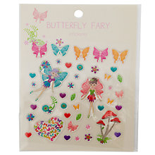 Buy John Lewis Butterfly Fairy Sticker Set, Multi Online at johnlewis.com