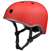 Buy Micro Scooters Safety Helmet, Matt Red, Small Online at johnlewis.com