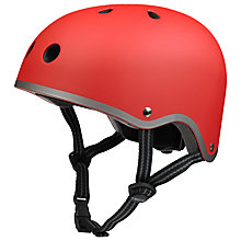 Buy Micro Scooters Safety Helmet, Matt Red, Medium Online at johnlewis.com