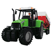 Buy John Lewis Green Tractor & Trailer Online at johnlewis.com