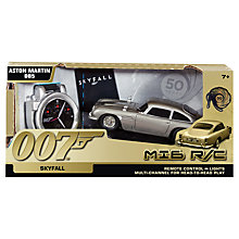 Buy James Bond MI6 Remote Control Aston Martin DB5 Online at johnlewis.com