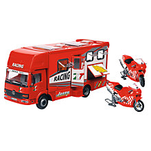 Buy John Lewis Racing Truck & Motorcycles Online at johnlewis.com