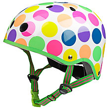 Buy Micro Scooter Safety Helmet, Neon Dot, Medium Online at johnlewis.com