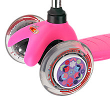Buy Micro Scooters Wheel Whizzers, Floral Dot Online at johnlewis.com