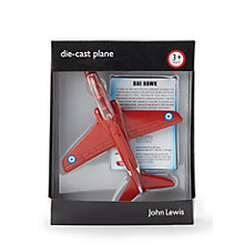 Buy John Lewis BAE Hawk Die-Cast Plane Online at johnlewis.com