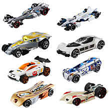 Buy Hot Wheels Star Wars Die Cast Toy Cars, Assorted Online at johnlewis.com