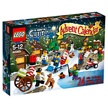 Buy LEGO City Christmas Advent Calendar Online at johnlewis.com
