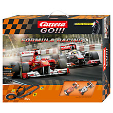 Buy Carrera Go!!! Formula Racing Set Online at johnlewis.com