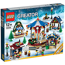 Buy LEGO Creator Winter Village Market Online at johnlewis.com