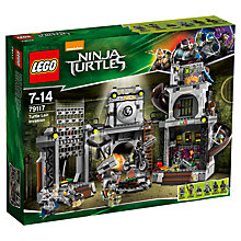 Buy LEGO Teenage Mutant Ninja Turtles Turtle Lair Invasion Online at johnlewis.com