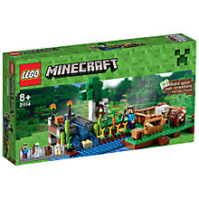 Buy LEGO Minecraft The Farm Online at johnlewis.com
