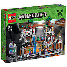 Buy LEGO Minecraft The Mine Online at johnlewis.com