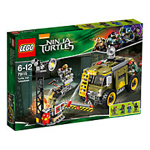 Buy LEGO Teenage Mutant Ninja Turtles: Turtle Van Takedown Online at johnlewis.com