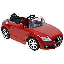 Buy Audi TT Roadster Ride-On Car Online at johnlewis.com