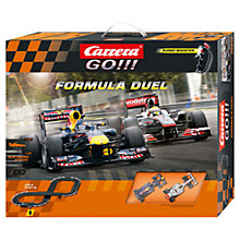 Buy Carrera Go!!! Formula Duel Racing Set Online at johnlewis.com