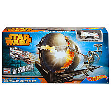 Buy Hot Wheels Star Wars Death Star Battle Blast Online at johnlewis.com