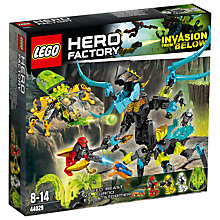 Buy LEGO Hero Factory Queen Beast vs. Furno, Evo & Stormer Online at johnlewis.com