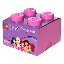 Buy LEGO Friends 4 Stud Storage Brick Online at johnlewis.com