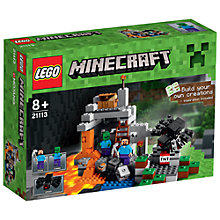 Buy LEGO Minecraft The Cave Online at johnlewis.com