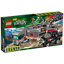 Buy LEGO Teenage Mutant Ninja Turtles Big Rig Snow Getaway Online at johnlewis.com