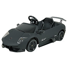 Buy Children's Ride-On Lamborghini Sports Car Online at johnlewis.com