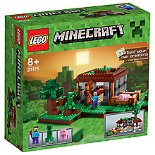 Buy LEGO Minecraft The First Night Online at johnlewis.com