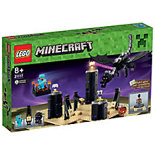 Buy LEGO Minecraft The Ender Dragon Online at johnlewis.com