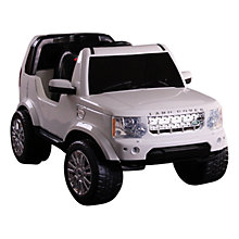 Buy Land Rover Discovery Electric Ride-On Online at johnlewis.com