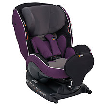 Buy BeSafe Izi Kid i-Size Car Seat, Purple Online at johnlewis.com