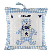 Buy Cambric & Cream Tooth Fairy Cushion, Blue Online at johnlewis.com