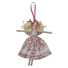 Buy Cambric & Cream Pink Flowered Fairy Doll Online at johnlewis.com
