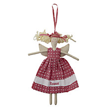 Buy Cambric & Cream Polka Dot Fairy Doll Online at johnlewis.com