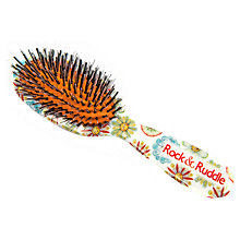 Buy Rock & Ruddle Small Flower Faces Hairbrush Online at johnlewis.com