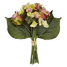 Buy Rose Bunch, Pink/Green Online at johnlewis.com