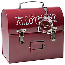Buy Burgon & Ball Tool and Tuck Box, Burgundy Online at johnlewis.com